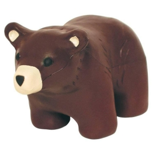 Bear Stress Reliever Balls - Brown