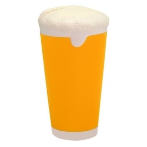 Beer Pint Glass Stress Reliever Ball