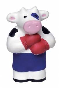 Boxing Cow Stress Reliever Balls