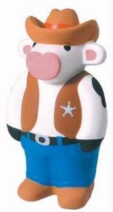Cowboy sheriff cow stress balls personalized stress for Jim beam signature craft for sale