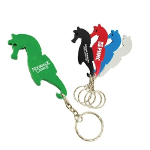 sea horse bottle opener keychain personalized keychains. Black Bedroom Furniture Sets. Home Design Ideas