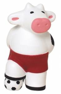 Soccer Cow Stress Reliever Balls