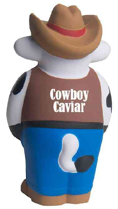 Custom Cowboy Cow Sheriff Stress Reliever Balls