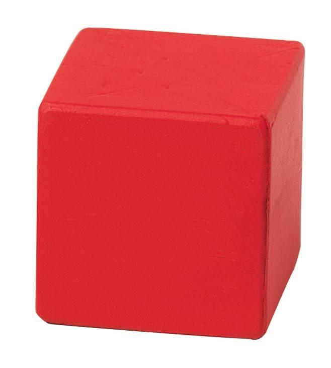 Cube Stress Reliever Balls - Red