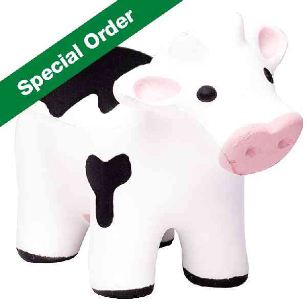 Custom Talking Cow Stress Reliever Balls