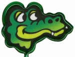 Alligator Head Pen Billboard