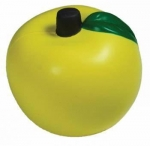 Apple Stress Reliever Balls Gold Fruit