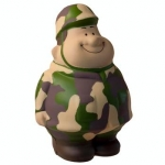 Army Man Bert Stress Reliever Balls
