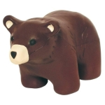Brown Bear Stress Reliever Balls