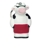 Cool Cow Keyring Keychain
