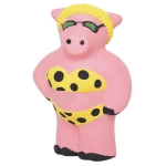 Cool Beach Pig Stress Reliever Balls