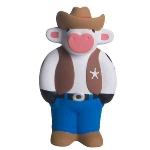 Cowboy Cow Sheriff Stress Reliever Balls