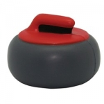 Curling Rock Stress Reliever Balls