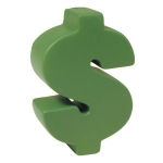 Dollar Sign Stress Reliever Balls
