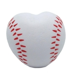 Baseball Heart Stress Reliever Balls
