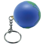 Earth Keyring Keychain