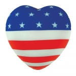 Flag Heart Stress Reliever Balls