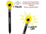 Goofy Light Bulb Pen - Light Up Talking