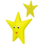 Happy Star Stress Reliever Balls
