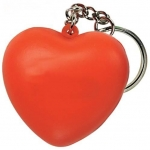 Heart Keyring Keychain Ball Relievers