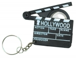Hollywood Keyring Keychain with Magnifier