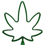 Marijuana Leaf Pen