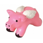 Pig Stress Reliever Balls with Wings