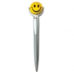 Smiley Squeezie Top Pen - Face